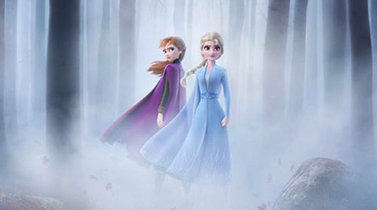 Frozen II - cinema infantil